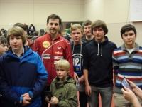 TSV Nieukerk mit Timo Boll